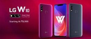LG W10 Manual Support / User Guide