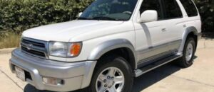 2000 Toyota 4Runner Owners Manual / Maintenance Schedule